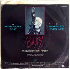 Billy Idol Mony Mony Live 7' Single 45 RPM Vinyl by ThisVinylLife