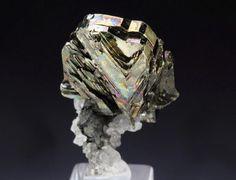 Cubanite, Henderson No. 2 mine, Chibougamau, Nord-du-Quebec, Quebec, Canada. Size 23 x 14 x 12mm