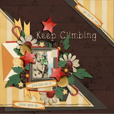 Digital Scrapbook Layout using Alpha Male by Traci Reed and Brook Magee