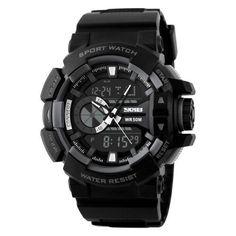 CHICUU - CHICUU SKMEI Brand Fashion Hiking Sports Electronic Schoolboy PU Leather  Watch - AdoreWe.com