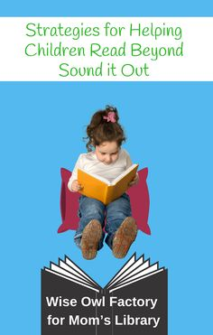 Do you need some help for early readers? These strategies go beyond the common 'sound-it-out' method to help your child help themselves and read better! Comprehension Strategies, Reading Strategies, Reading Skills, Teaching Child To Read, Learning To Write, Child Help, Helping Children, Hard Words, Big Words
