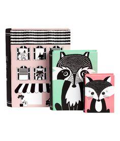 3-pack förvaringsboxar   Ljusrosa/Räv   Home   H&M SE