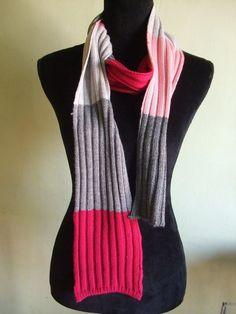 sciarpa donna lana maglia, by maglieria magica, 20,00 € su misshobby.com