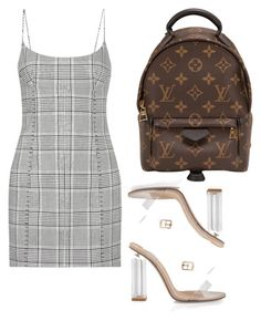 """""""simple day"""" by c4llmeprada ❤ liked on Polyvore featuring Alexander Wang, Inca and Louis Vuitton"""