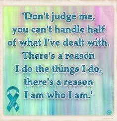 Don't judge me - quote Trigeminal Neuralgia