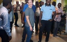 Facebook's Founder, Mark Zuckerberg Visits Nigeria For the First Time