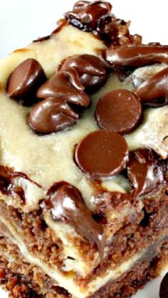 Marbled Chocolate Cheesecake Brownies ~ so delectable