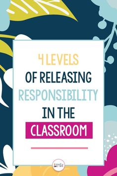 Gradual Release of Responsibility Did you know one of the best ways to encourage student independenc Student Behavior, Classroom Behavior, Student Goals, Inquiry Based Learning, Social Emotional Learning, Paragraph Writing, Opinion Writing, Persuasive Writing, Gradual Release Of Responsibility