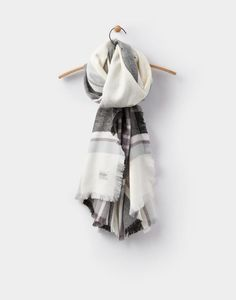 Joules Berkley Womens Soft Handle Oblong Scarf