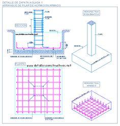 Detalle de muro de sotano de hormig n armado y entrega de for Construccion de escaleras de concreto armado