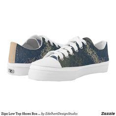 Zipz Low Top Shoes Boa Image Sparkling