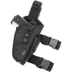 Amazon.com : UTG Elite Tactical Leg Holster, Black (Right Handed) :... (€8,47) ❤ liked on Polyvore featuring weapons, accessories, guns, fillers and armas