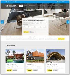 real homes html template design websites pinterest real estate