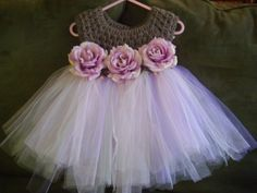 Halloween. Crochet top Tutu dress