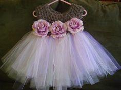 Halloween.   Crochet top Tutu dress