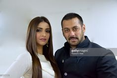 Salman Khan's promotes his Diwali release, Prem Ratan Dhan Payo, that hits theatres on November 12, 2015 with co-star Sonam Kapoor on October 30, 2015 in Ahmedabad, India.