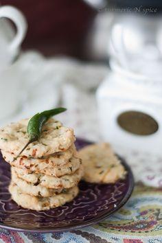 Turmeric n spice: Savory Masala Cookies