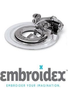 Embroidex Flower Stitch Presser Feet for Low Shank Sewing Machines