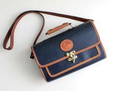 Vintage 1980s Dooney & Bourke Handbag. $88.00, via Etsy.
