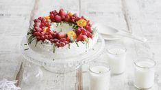 Торт «Павлова» с ягодами. Пошаговый рецепт с фото на Gastronom.ru