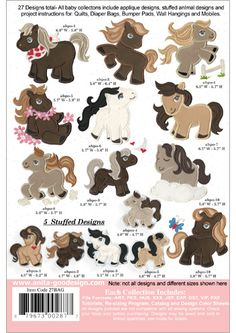 Anita Goodesign | Baby Ponies - Anita Goodesign