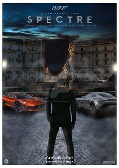 007 Spectre Poster 2015 by BTPosterDesign.deviantart.com on @DeviantArt