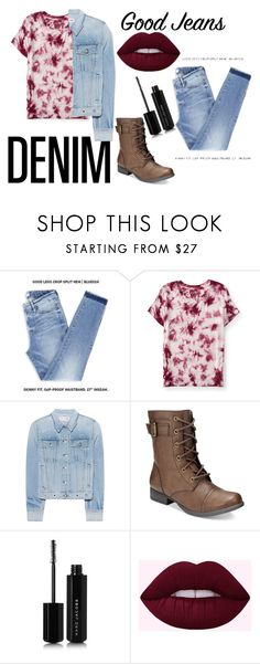 """""""Everything Denim!"""" by cow-moe ❤ liked on Polyvore featuring Aéropostale, rag & bone, American Rag Cie and Marc Jacobs"""