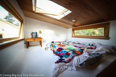Can't go wrong with this loft design! Spacious, and with a gorgeous skylight too.
