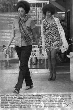 Angela Davis, 1972