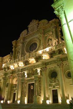 Chiesa di Santa Croce - Lecce, Puglia  #TuscanyAgriturismoGiratola