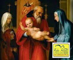 Radio Hosanna 1450 AM.  La Misionera.: La Presentación de Jesús en el Templo 02 de Febrer...