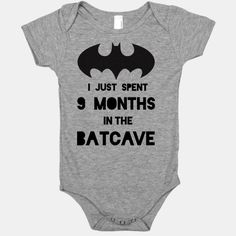 I Just Spent 9 Months in the Batcave....