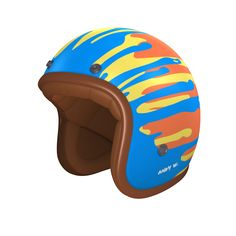 #helmade #PopArt - Inspired by a great epoque of our culture. Get your #helmetdesign on www.helmade.com