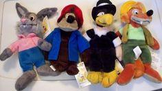 DISNEY BEANIE BEAN BAG SONG OF THE SOUTH SET OF 4 BRER RABBIT/FOX/VULTURE/BEAR - http://hobbies-toys.goshoppins.com/beanbag-plush/disney-beanie-bean-bag-song-of-the-south-set-of-4-brer-rabbitfoxvulturebear/