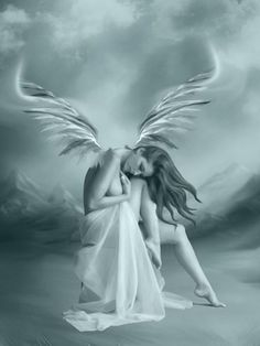 Inspiration for my YA series--Daughters of Heaven and Hell Dark Angels, Fallen Angels, Angels Among Us, Angels And Demons, Angel Artwork, Fairies Photos, I Believe In Angels, Ange Demon, Angel And Devil