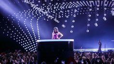 Song-Contest-Finale Und dann erschien Conchita Wurst aus einem Podium in der Mitte der Halle