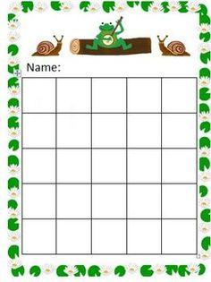 Free Frog with banjo sticker chart Behavior Sticker Chart, Sticker Chart Printable, Printable Reward Charts, Preschool Reward Chart, Preschool Themes, Classroom Themes, Kids Behavior, Behavior Rewards, Kids Rewards