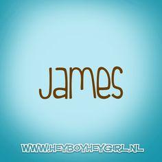 James (Voor meer inspiratie, en unieke geboortekaartjes kijk op www.heyboyheygirl.nl)
