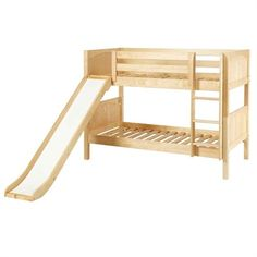 The Frances Low Bunk Bed is a fun and functional bunk bed for your child!
