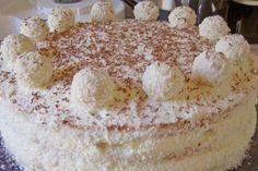 Tort Raffaello – un desert deosebit de fin! Tiramisu, Ethnic Recipes, Raffaello, Tiramisu Cake