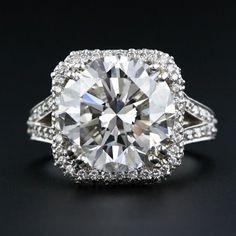 Estate diamond ring jewelry