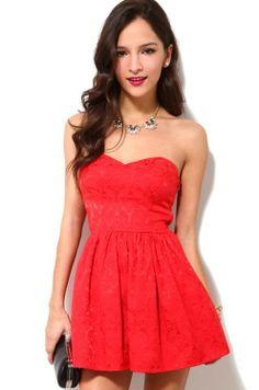 Shoulder Decolleted Mini Dress