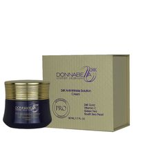 Donna Bella 24K Pro Edition Anti-Wrinkle Solution Cream A superior anti-wrinkle solution Cream moisturizer is formulated with 24K Nano Gold, Hyaluronic  Read more  Visit ht