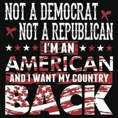 I'm ashamed of BOTH parties. If the GOP doesn't get behind Trump, Killary will continue obama's destruction of America.