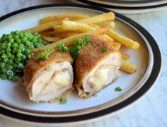 Sous vide chicken cordon bleu - 2h @ 63.5C