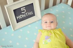 3 Month Baby Picture Ideas | ... are loving the little personality our newly 5 month old is taking on