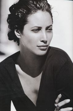 Christy Turlington, more effortless style  beauty. My all time favorite of the Supermodel Clan.