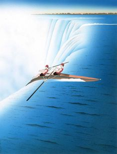 Guy Billout est un illustrateur caricaturiste français qui réalise de fantastiques dessins surréalistes.