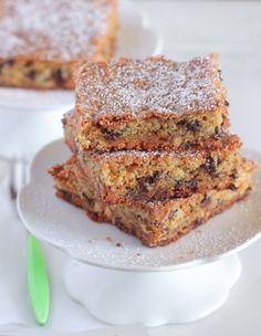 My Triple Chip Blondies are packed with sweet goodness that is perfect for your next party!