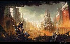 Nomad-Miningsite by moonworker1